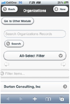 search Module