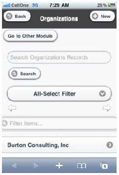 Search-Module