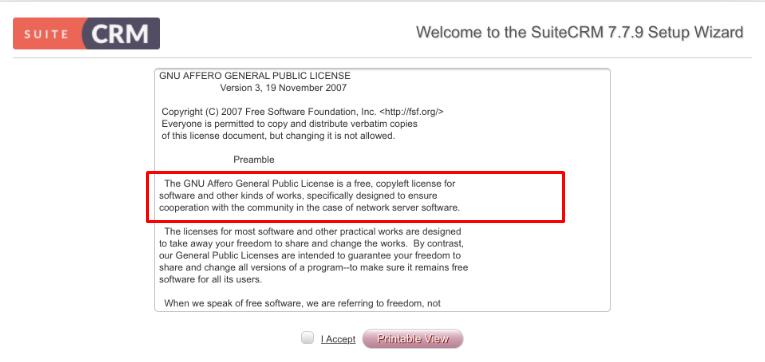 suitecrm-free-license