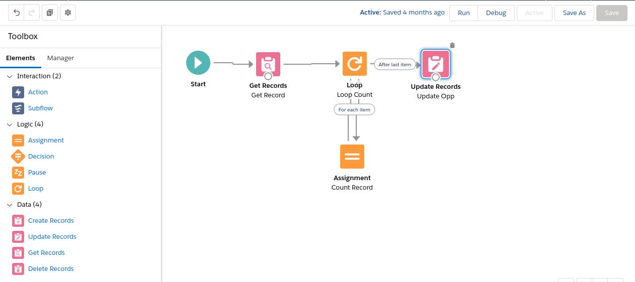 Salesforce-flow-example