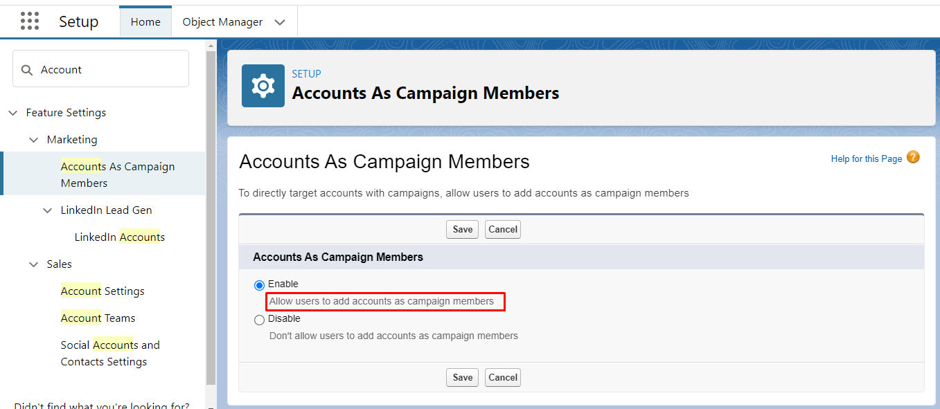 salesforce-account-campaign-member