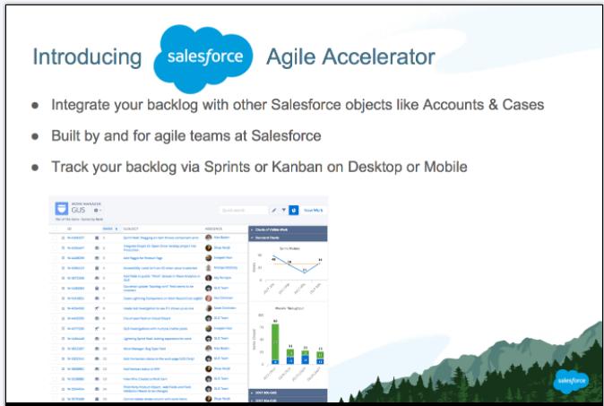 salesforce-agile-accelerator